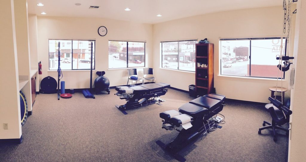 Chiropractic Space at Rebel Med NW in Ballard